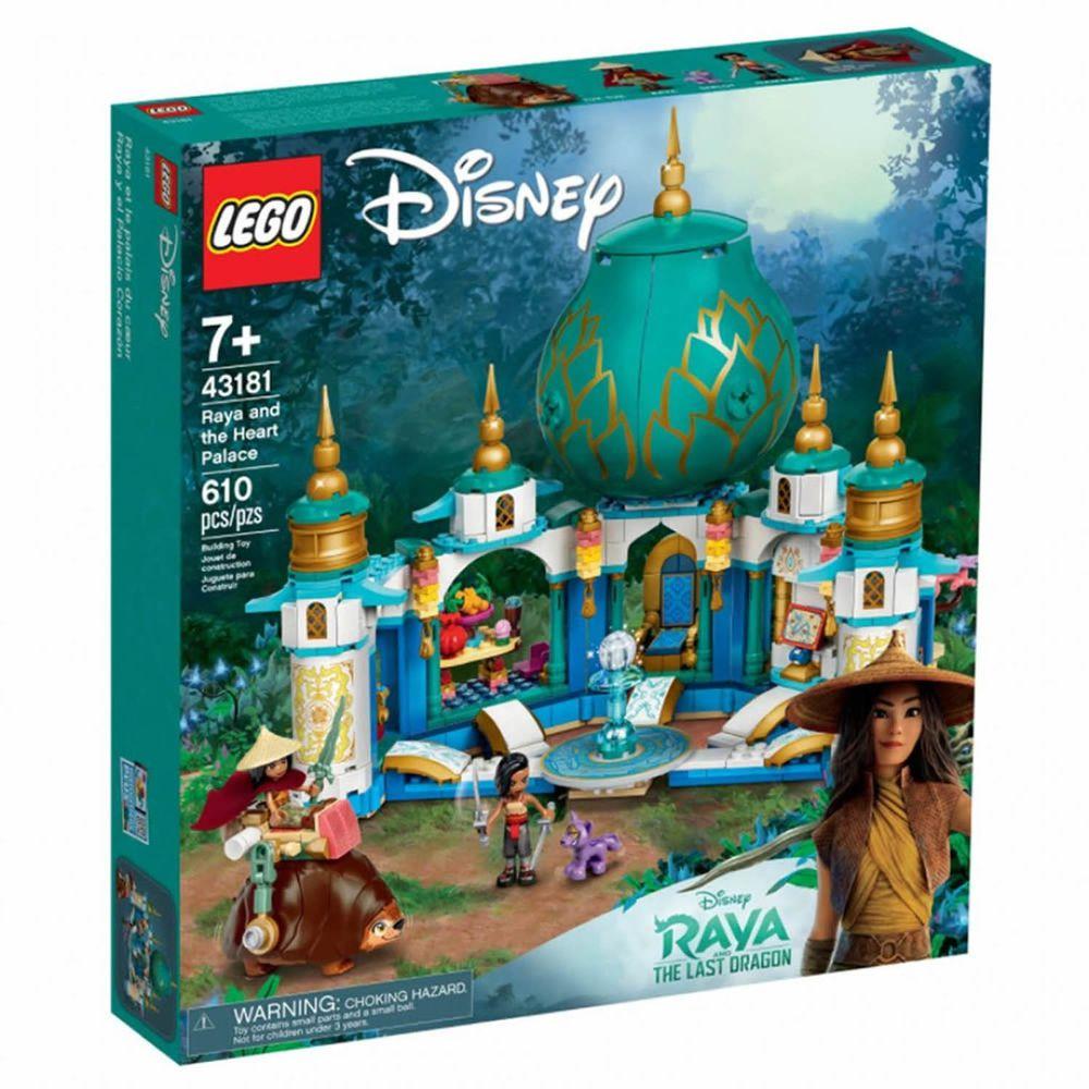樂高 LEGO - 樂高積木 LEGO《 LT43181 》迪士尼公主系列 - Raya and the Heart Palace-601pcs