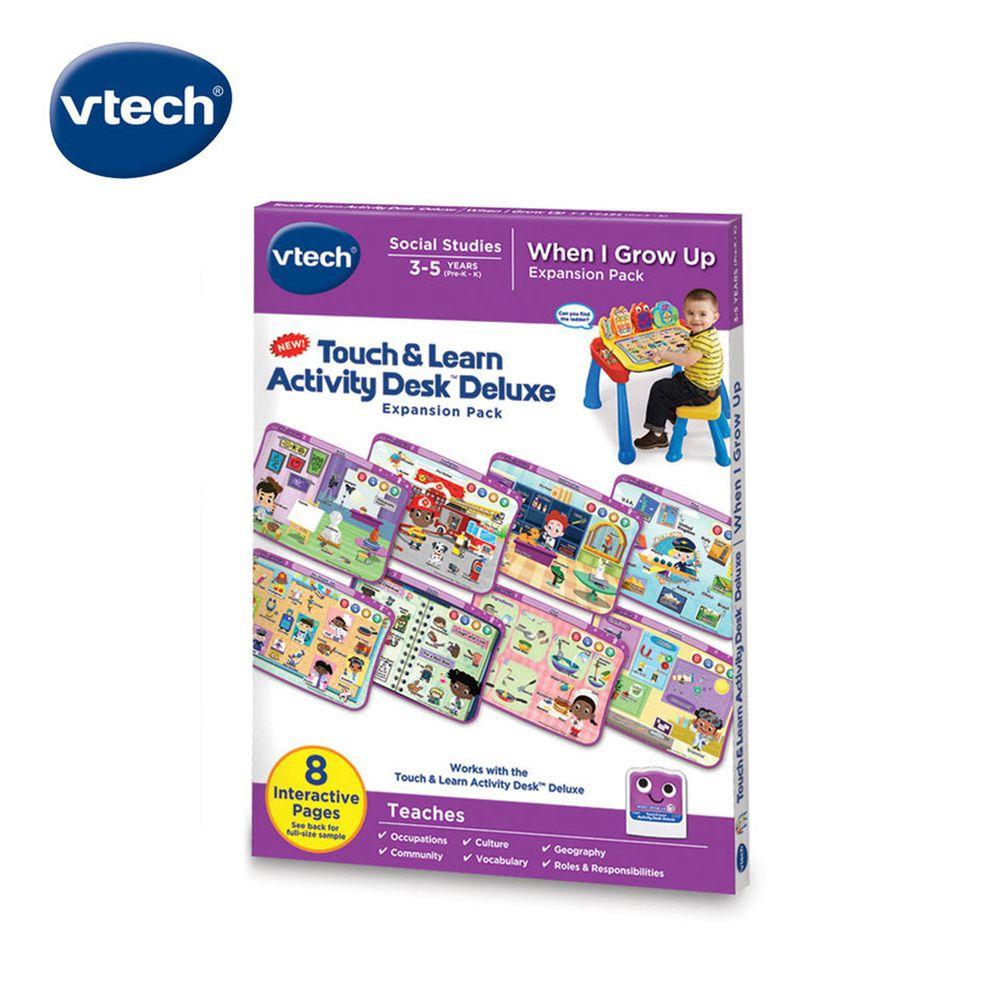 Vtech - 互動學習點讀桌圖鑑套卡組-我的成長夢想(3-5Y)