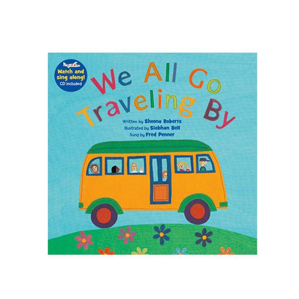 有聲書-WE ALL GO TRAVELING BY/BK+VCD