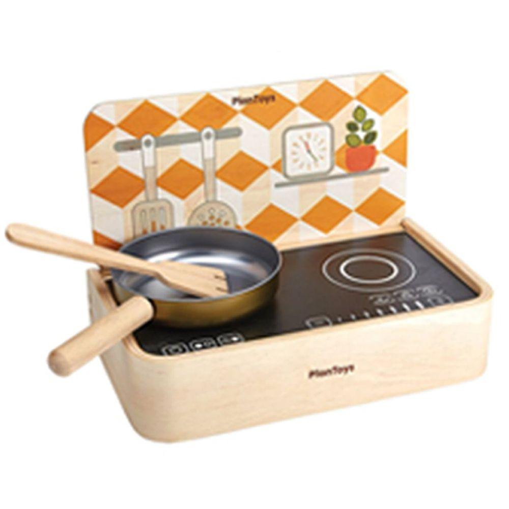 泰國 Plantoys - 小主廚-攜帶式雙面桌上廚房(含平底鍋、鏟子)