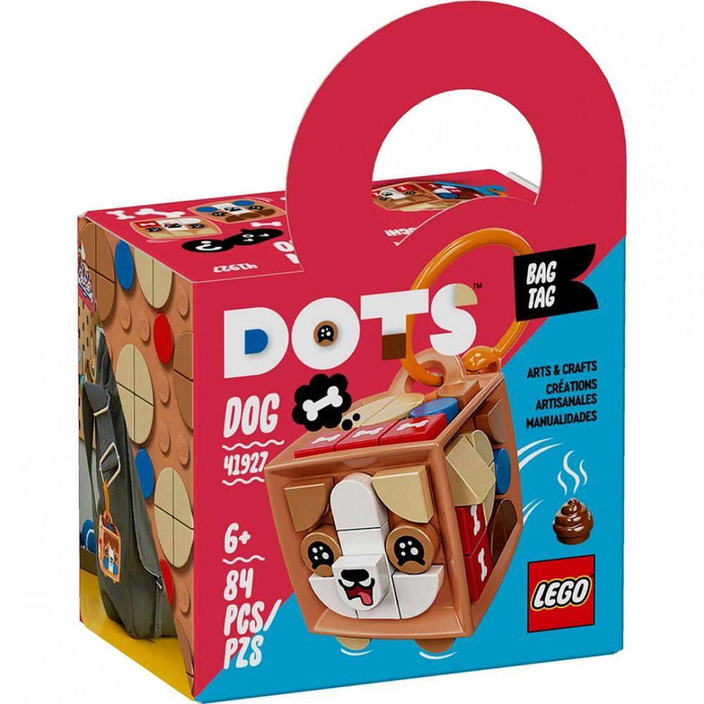 樂高 LEGO - 樂高積木 LEGO《 LT41927 》DOTS 系列 豆豆手環 - 行李吊牌-狗狗-84pcs