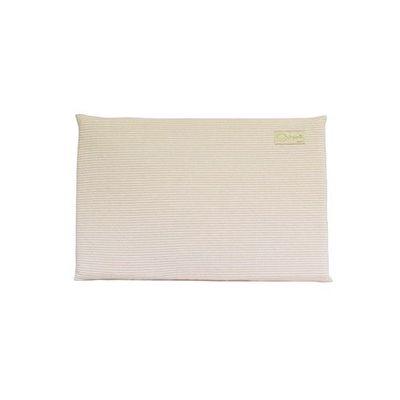 有機棉嬰兒乳膠平枕-經典條紋系列-溫暖粉 (44x30x2.5cm)-3個月起