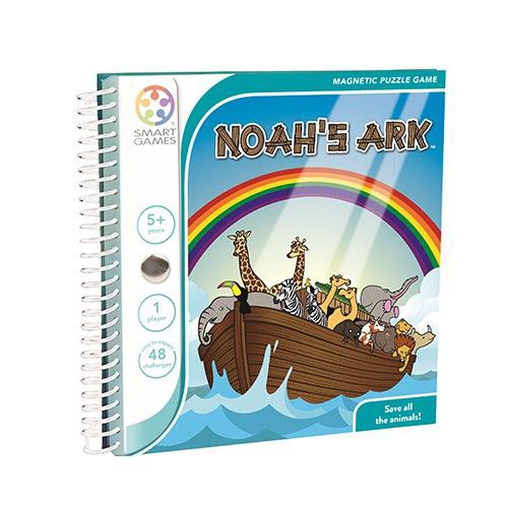 上誼文化 - 【比利時SMART GAMES】魔磁隨身遊戲-動物方舟-5歲以上
