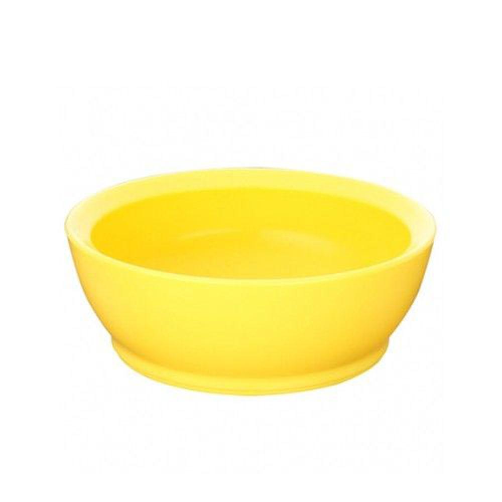 美國 Calibowl - 12oz防漏學習碗-黃色-單入無蓋