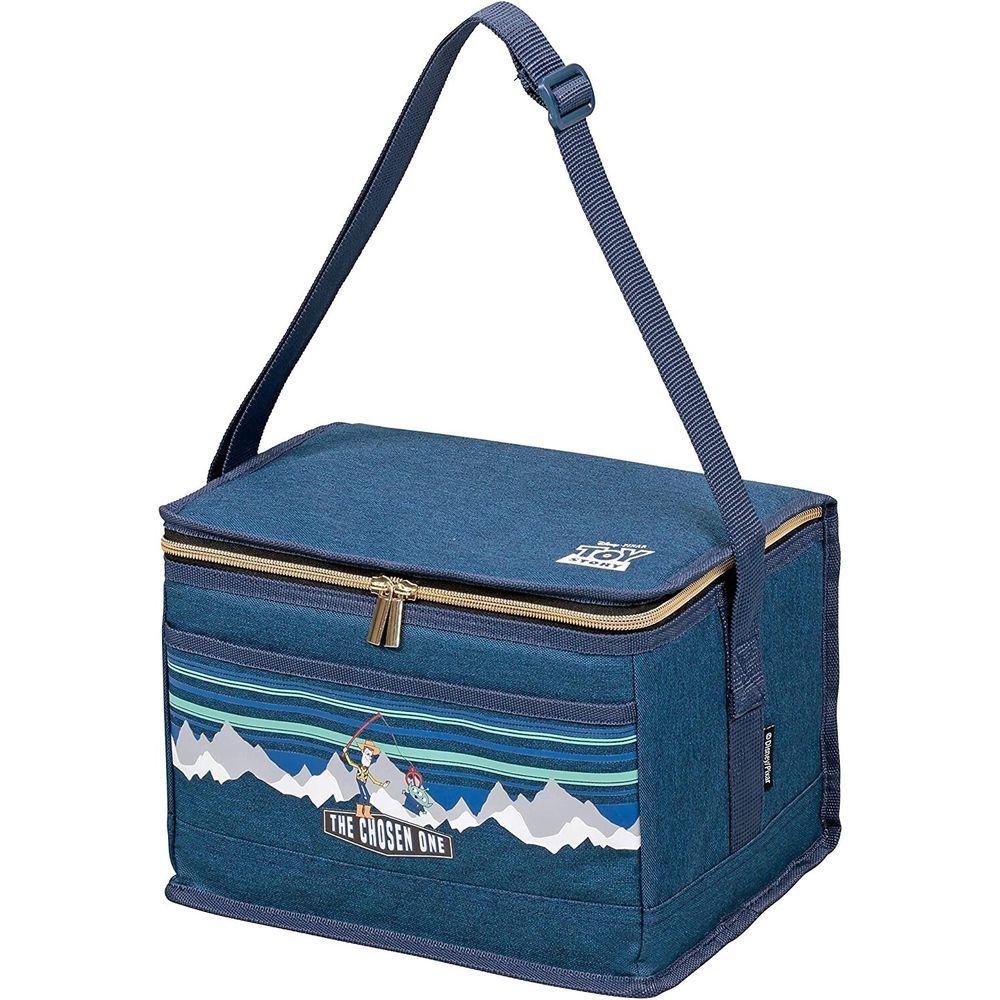 日本 Pearl 金屬 - 迪士尼方形保冷袋-玩具總動員-藍 (6L(28x18x18.5cm))