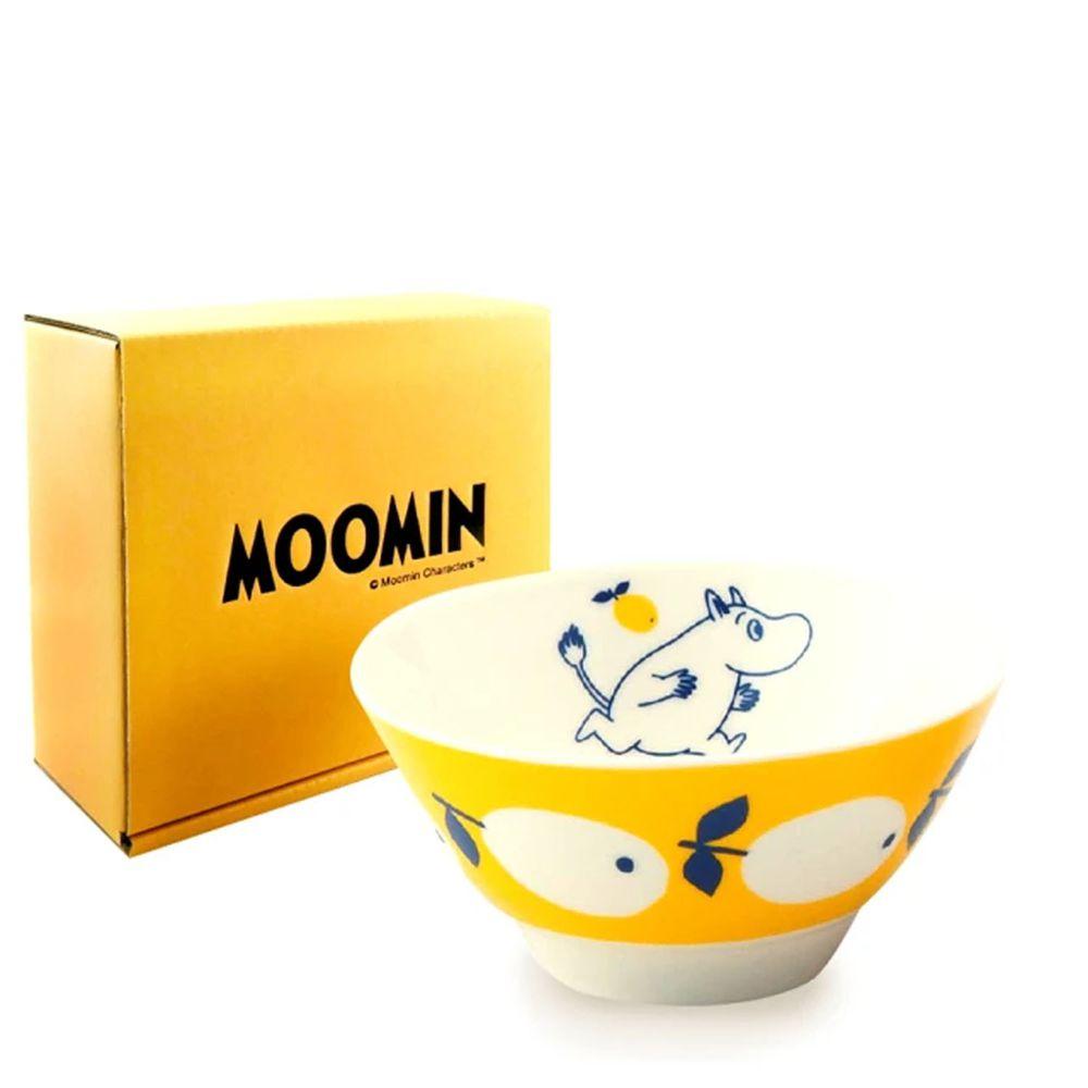 日本山加 yamaka - moomin 嚕嚕米彩繪陶瓷碗禮盒-MM031-312-1入