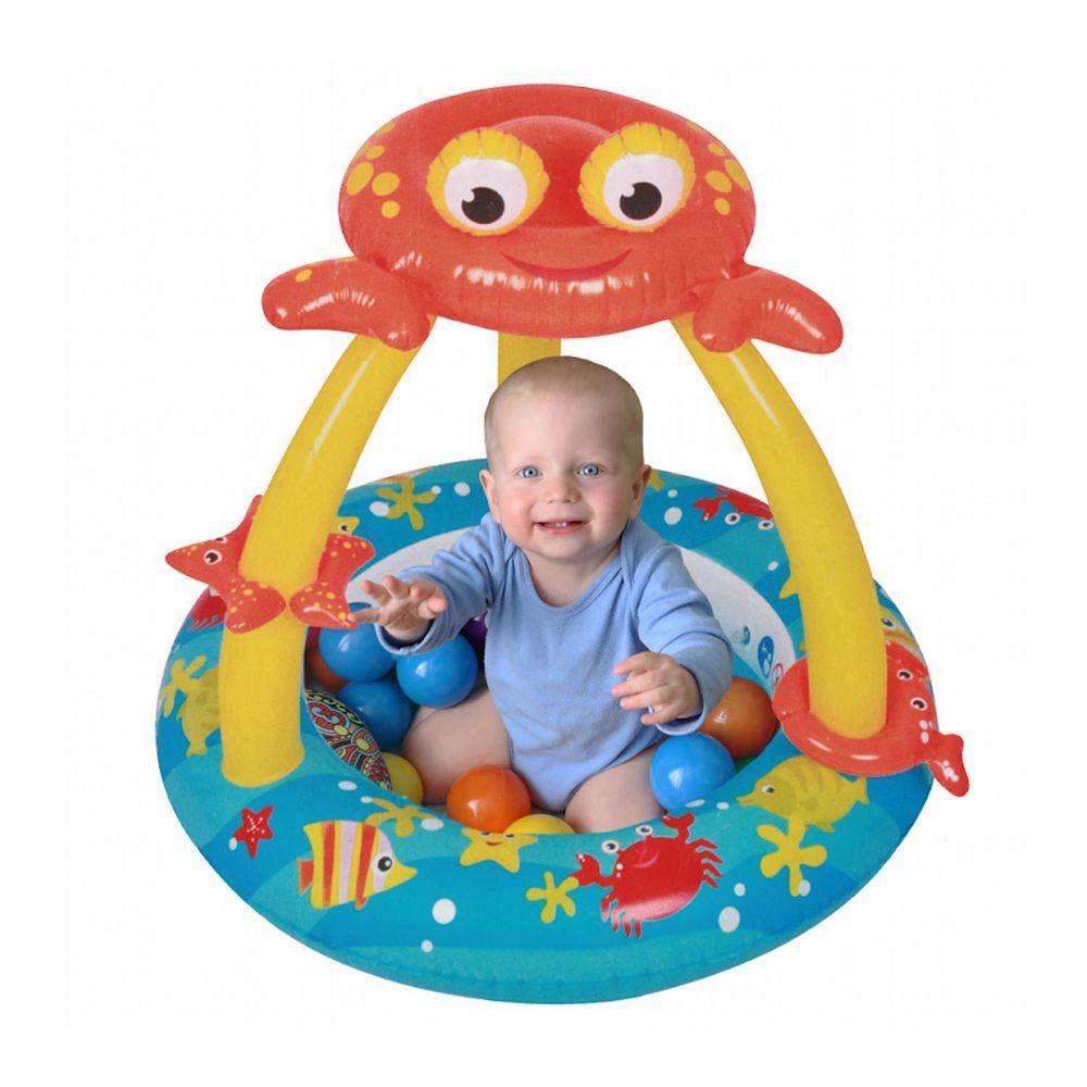 Ching Ching - 螃蟹 輕巧小泳池 SPMB03-100 (室內室外皆可使用/可當球池)