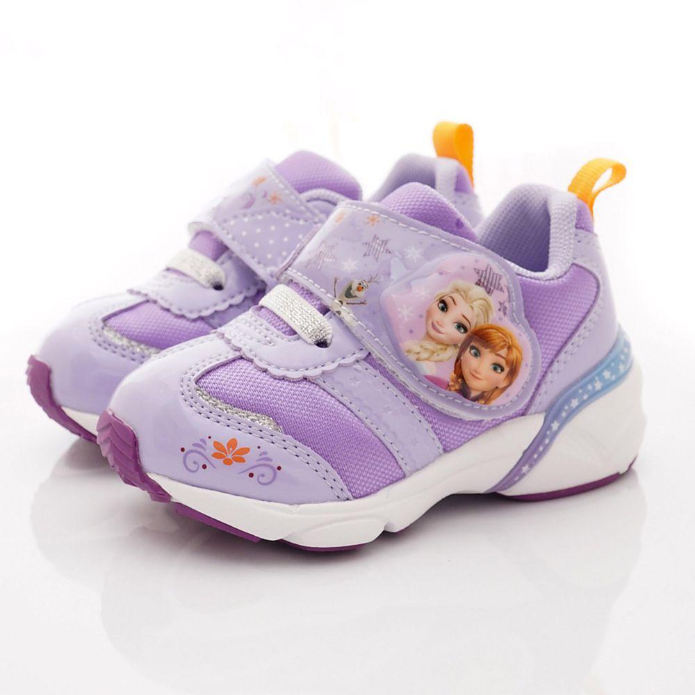 Moonstar日本月星 - 冰雪2.0電燈運動鞋款(中小童段)-紫