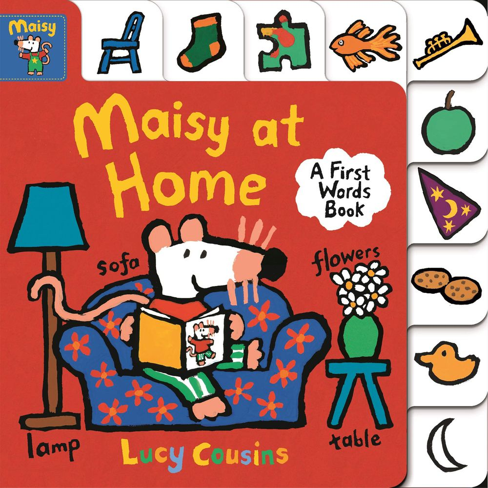 MAISY AT HOME-硬頁書-彩色 (19x19cm)