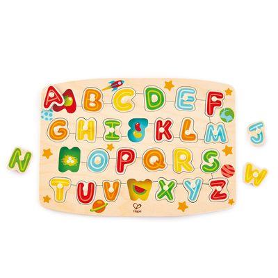 ABC配對木拼圖-(新版)