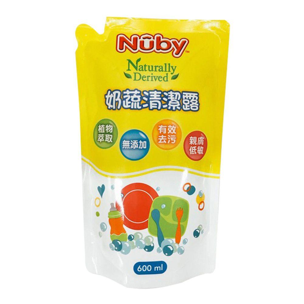 Nuby - 奶蔬清潔露-補充包-600ml
