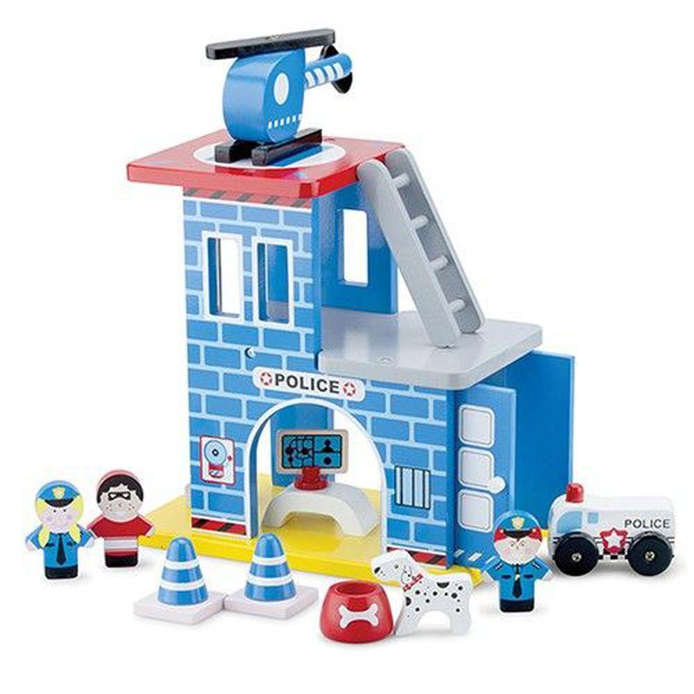荷蘭 New Classic Toys - 波麗士英雄小隊木製玩具
