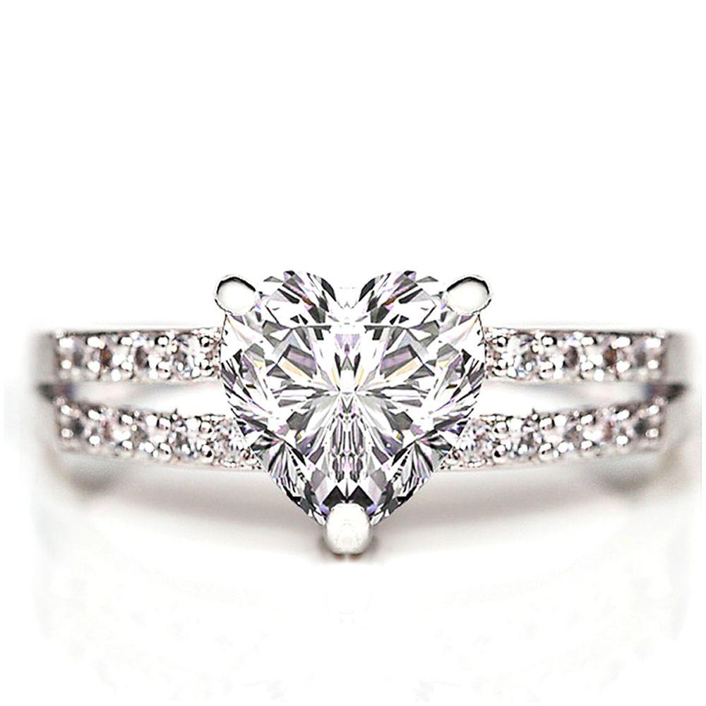 美國ILG鑽飾 - Fascinating 傾心動人 1.50克拉戒指 – 頂級美國ILG Diamond,媲美真鑽亮度的鑽飾【RI080】-加贈高級珠寶級絨布盒1個-外國抗敏材質電鍍頂級白K金色