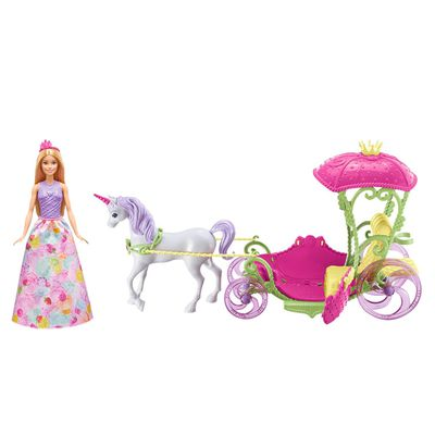 芭比夢托邦甜甜村公主與四輪馬車