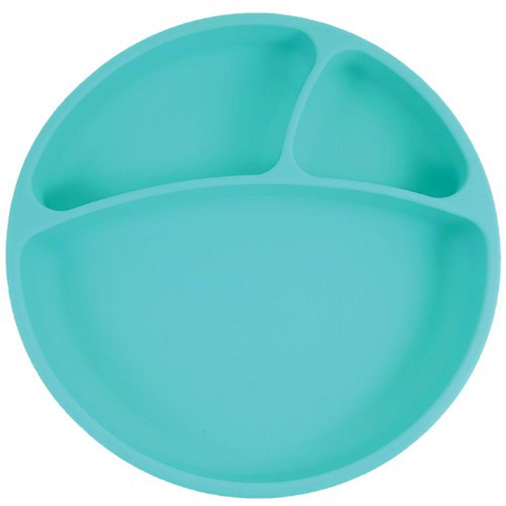 土耳其 minikoioi - 防滑矽膠餐盤-薄荷綠