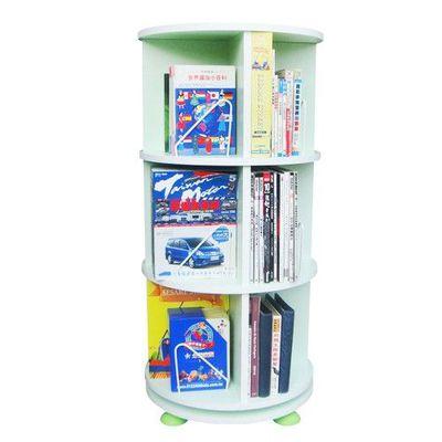 360° 旋轉書櫃-三層式-蘋果綠-支架12入+水平儀4入