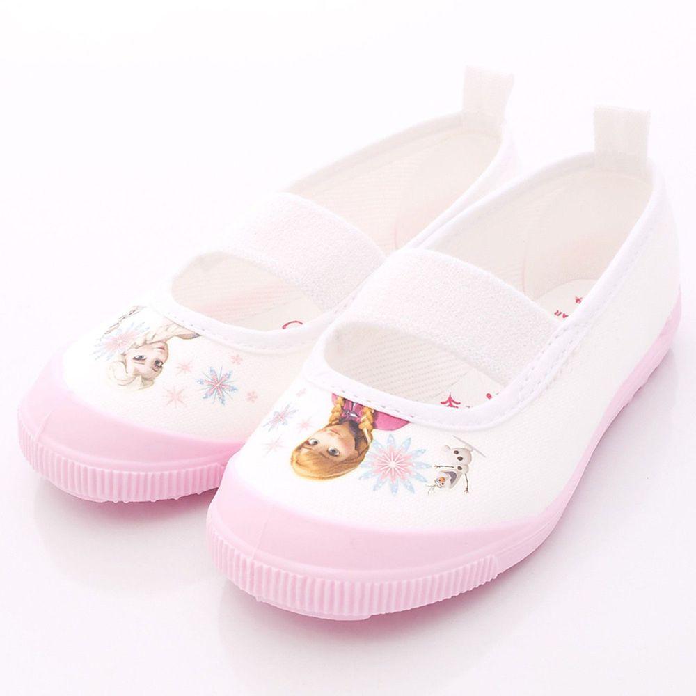 Moonstar日本月星 - 日本月星機能童鞋-冰雪聯名室內鞋款(中小童段)-粉