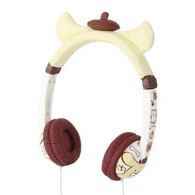 三麗鷗系列 兒童耳機 可愛耳朵造型款(線控式麥克風)