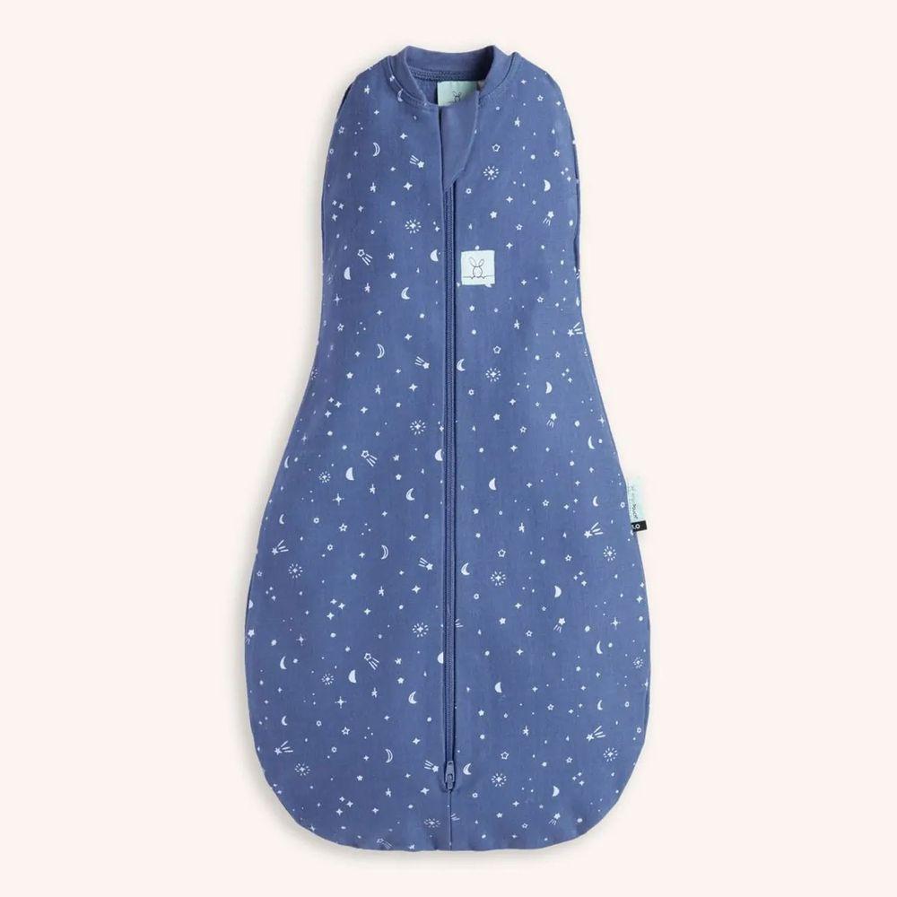 澳洲 ergoPouch - ergoCocoon二合一舒眠包巾-0.2Tog-星空藍