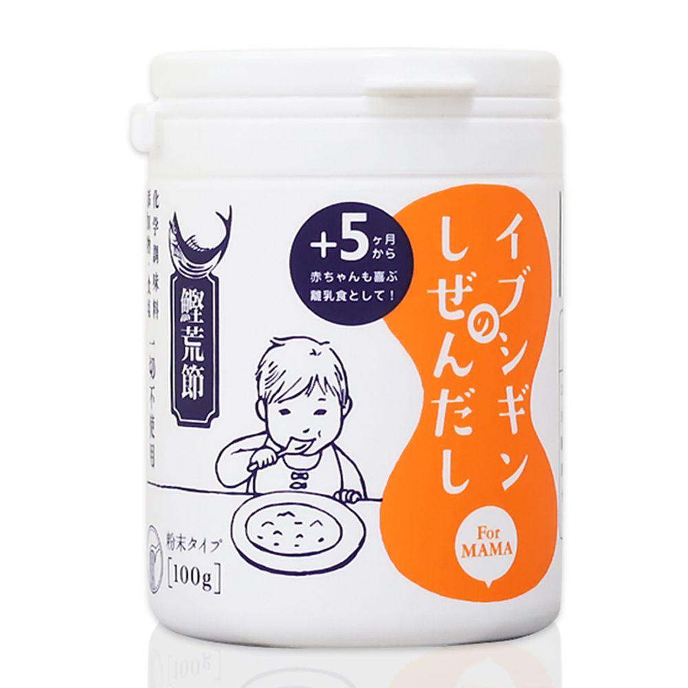 日本ORiDGE - 無食鹽昆布柴魚粉 調味粉末100g(罐裝)-100g/罐