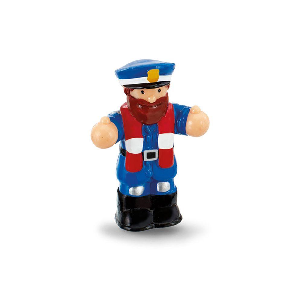 英國驚奇玩具 WOW Toys - 小人偶-海岸警衛隊 克里斯托福