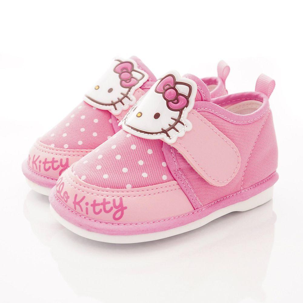 HELLO KITTY - Q軟嗶嗶學步鞋款(寶寶段)-粉