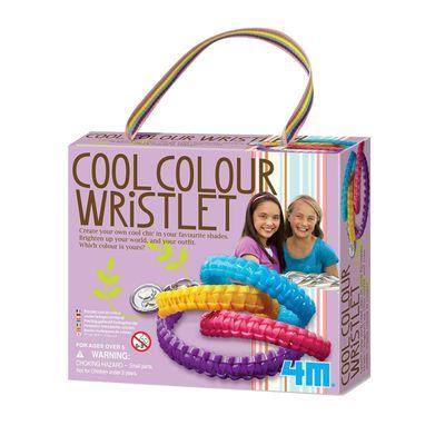 好朋友絢麗手環 Cool Color Wristlets-4條手環