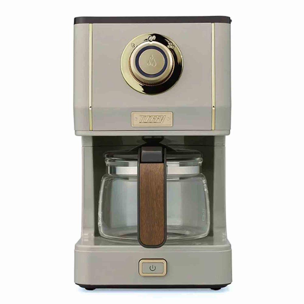 日本Toffy - Drip Coffee Maker 咖啡機-灰杏白