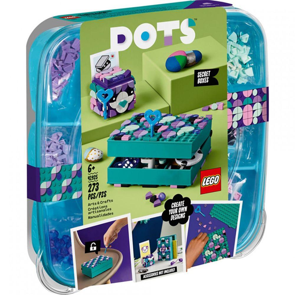 樂高 LEGO - 樂高積木 LEGO《 LT41925 》DOTS 系列 豆豆手環 - 豆豆秘密寶盒-273pcs