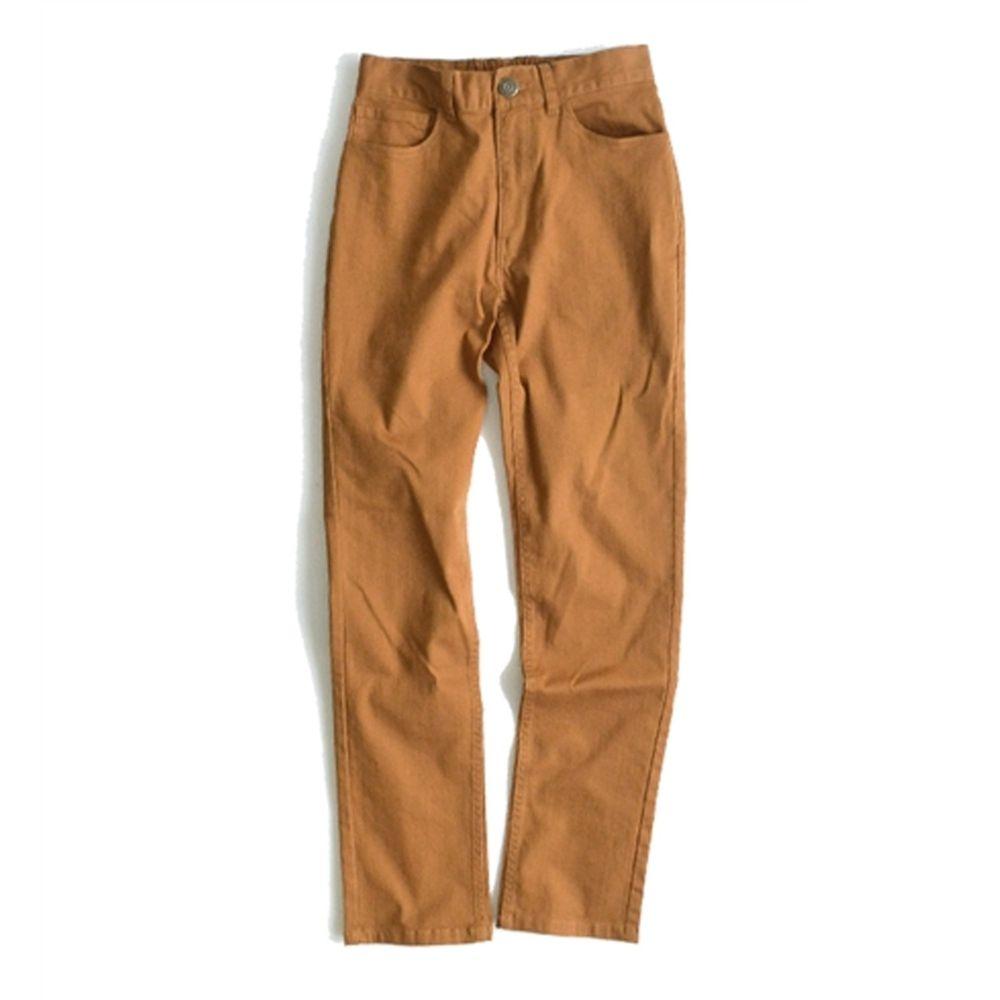 日本 zootie - (剩L)Better Pants [定番] 率性基本挺款純棉直筒褲-焦糖