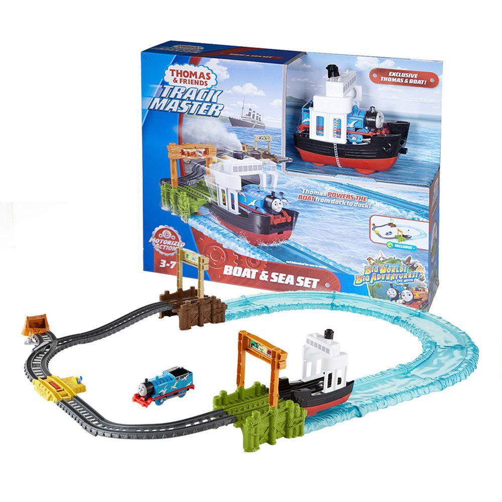 湯瑪士小火車 - 【新品】湯瑪士電動系列-航海冒險組