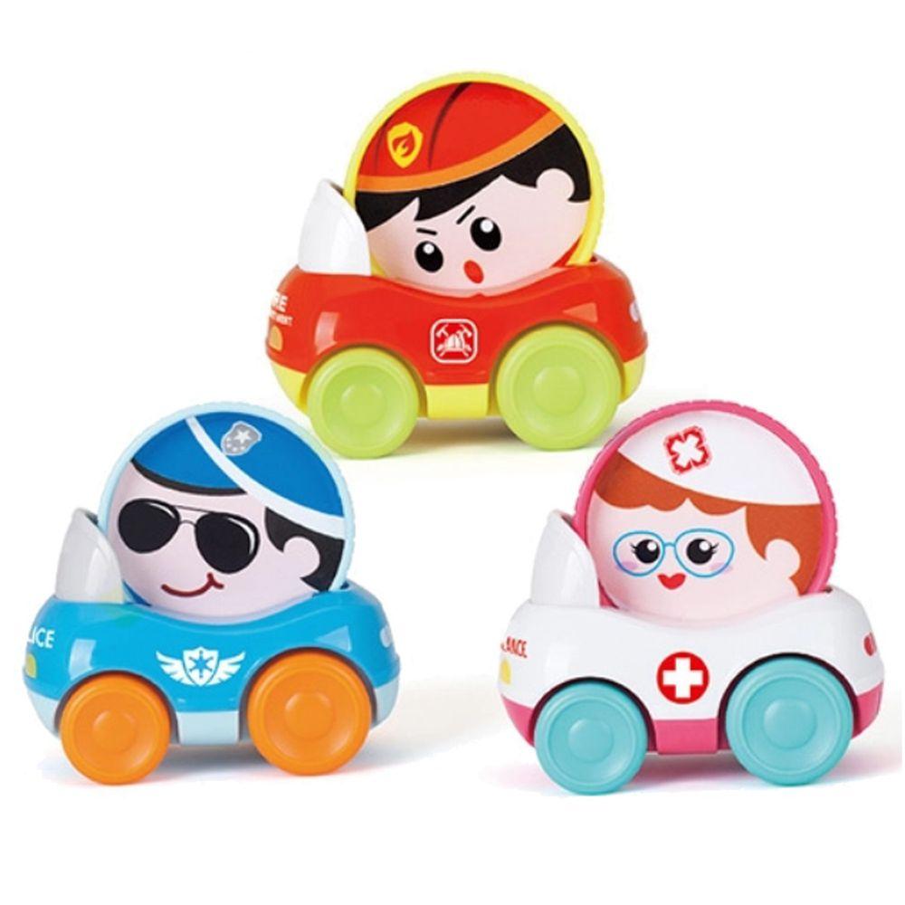 香港 HOLA - 幼兒玩具-小英雄嚕嚕車(3入)