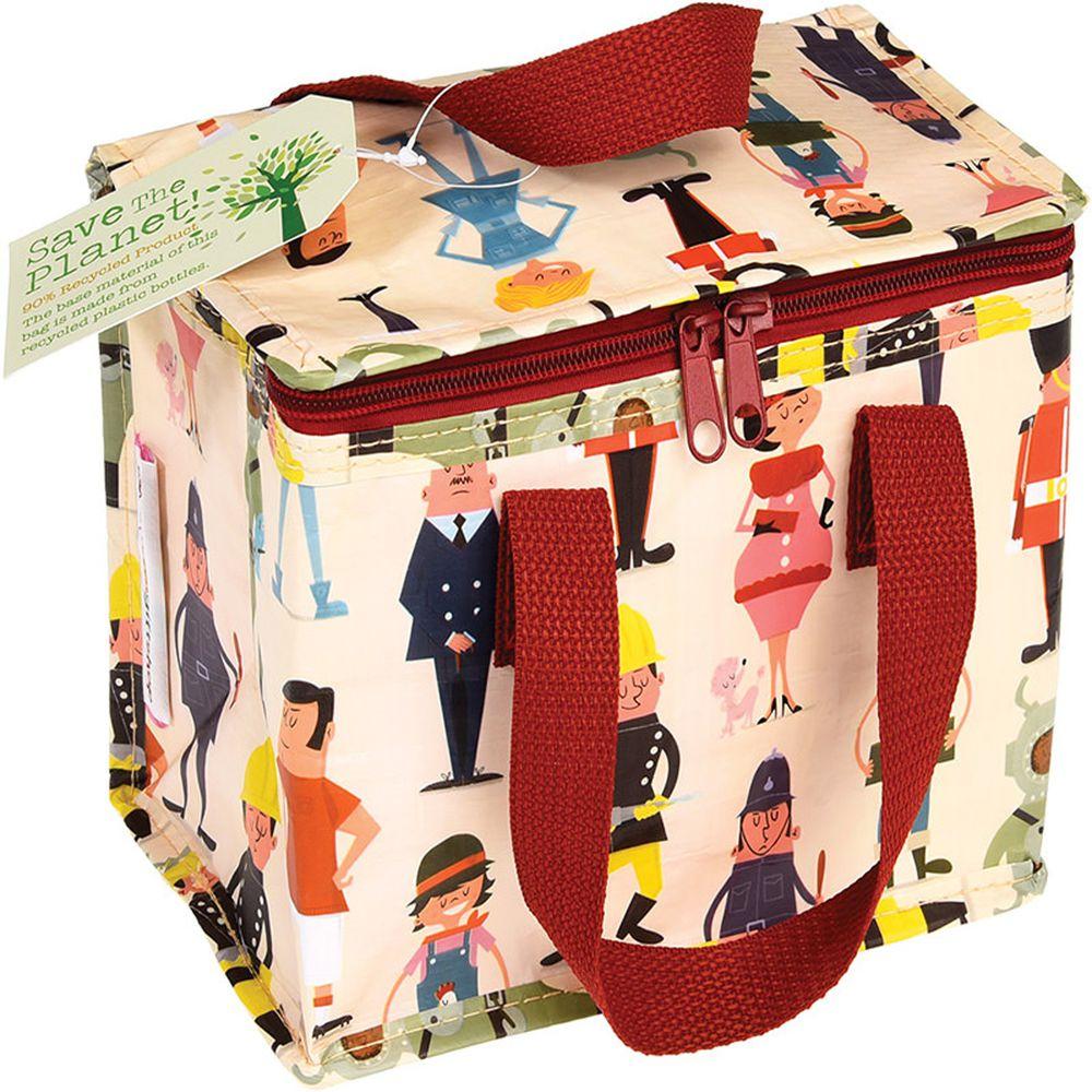 英國 Rex London - 環保保溫袋/保冷袋/便當袋/野餐袋-都會男女