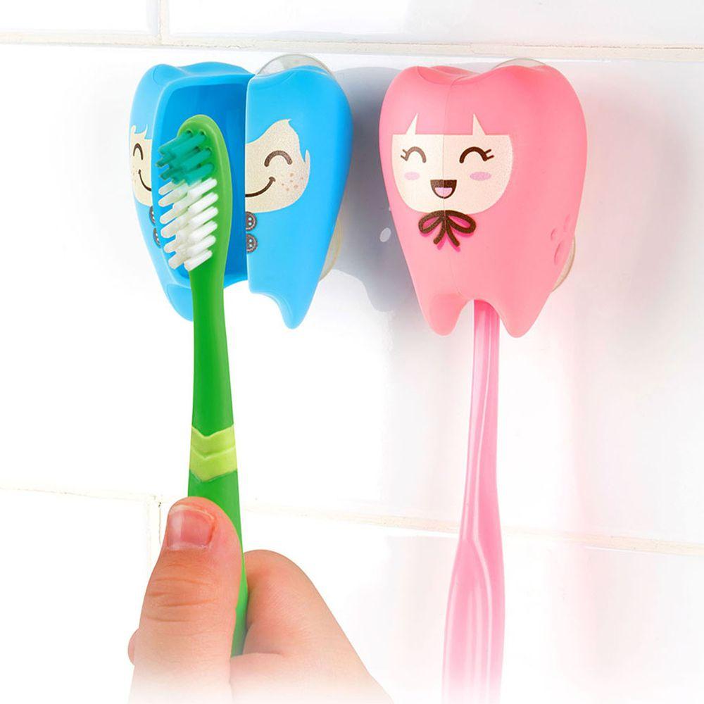 Flipper - 專利輕觸開關牙刷架-牙仙-FRECKIE & GIGI