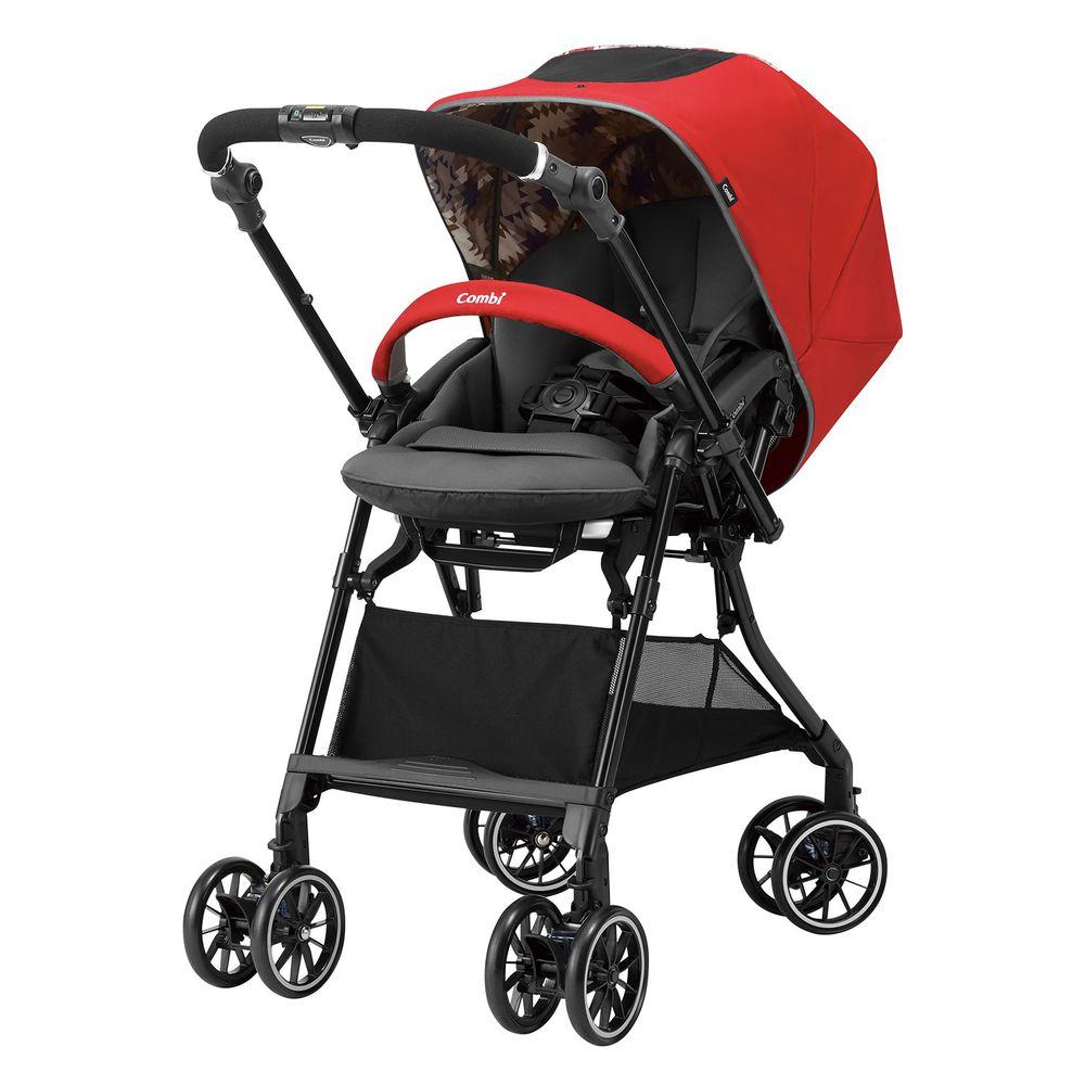 日本 Combi - Sugocal Crown 嬰兒手推車-風情紅-1個月~36個月(體重15kg以下)