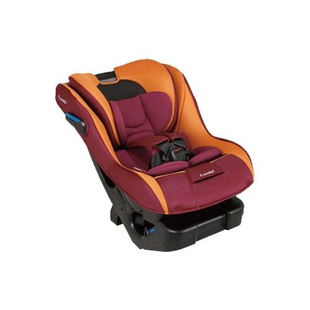日本 Combi - New Prim Long S 汽車安全座椅-巴洛克紅-新生兒0歲起~7歲(25kg以下)