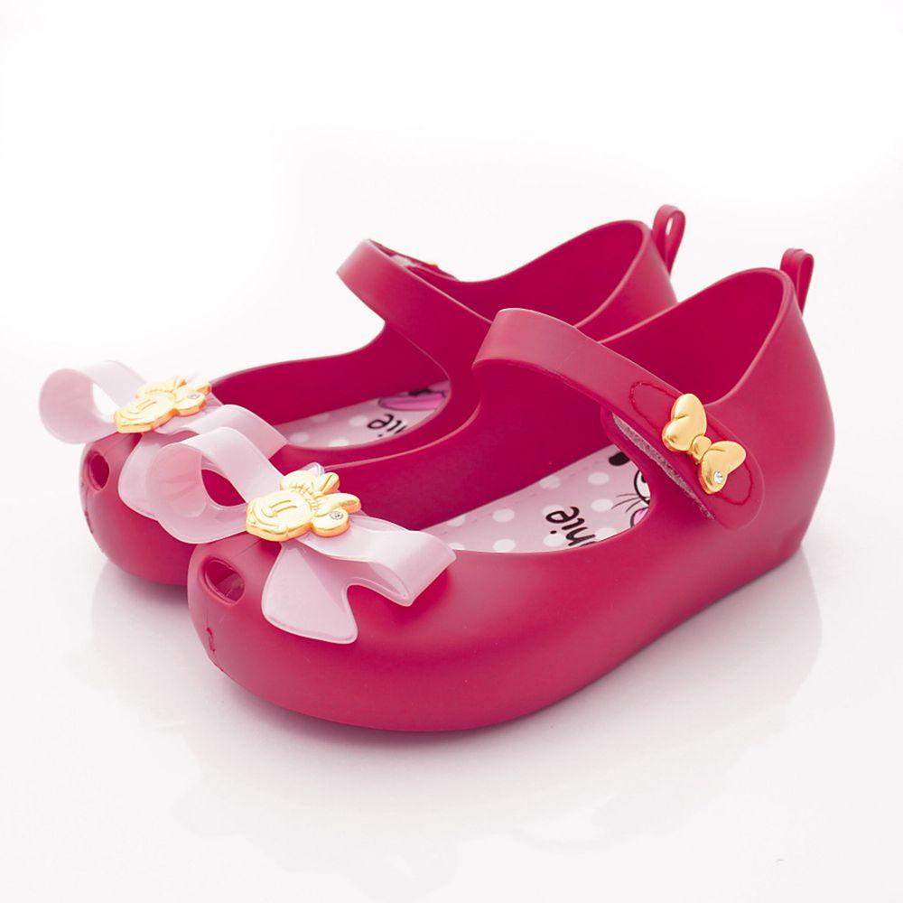 迪士尼 - 卡通童鞋-米妮金賞娃娃鞋(中小童段)-桃