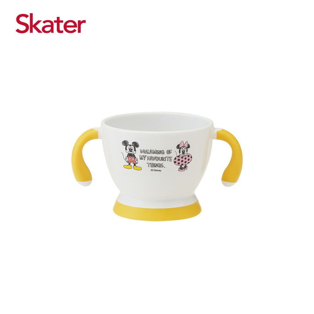 日本 SKATER - 離乳雙耳杯(180ml)-米奇