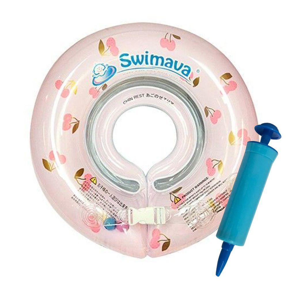 Swimava - G1嬰兒游泳脖圈-櫻桃 (1-18個月,13kg以內)