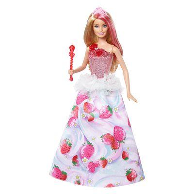 芭比夢托邦甜甜村公主-(音樂魔杖&發光禮服)