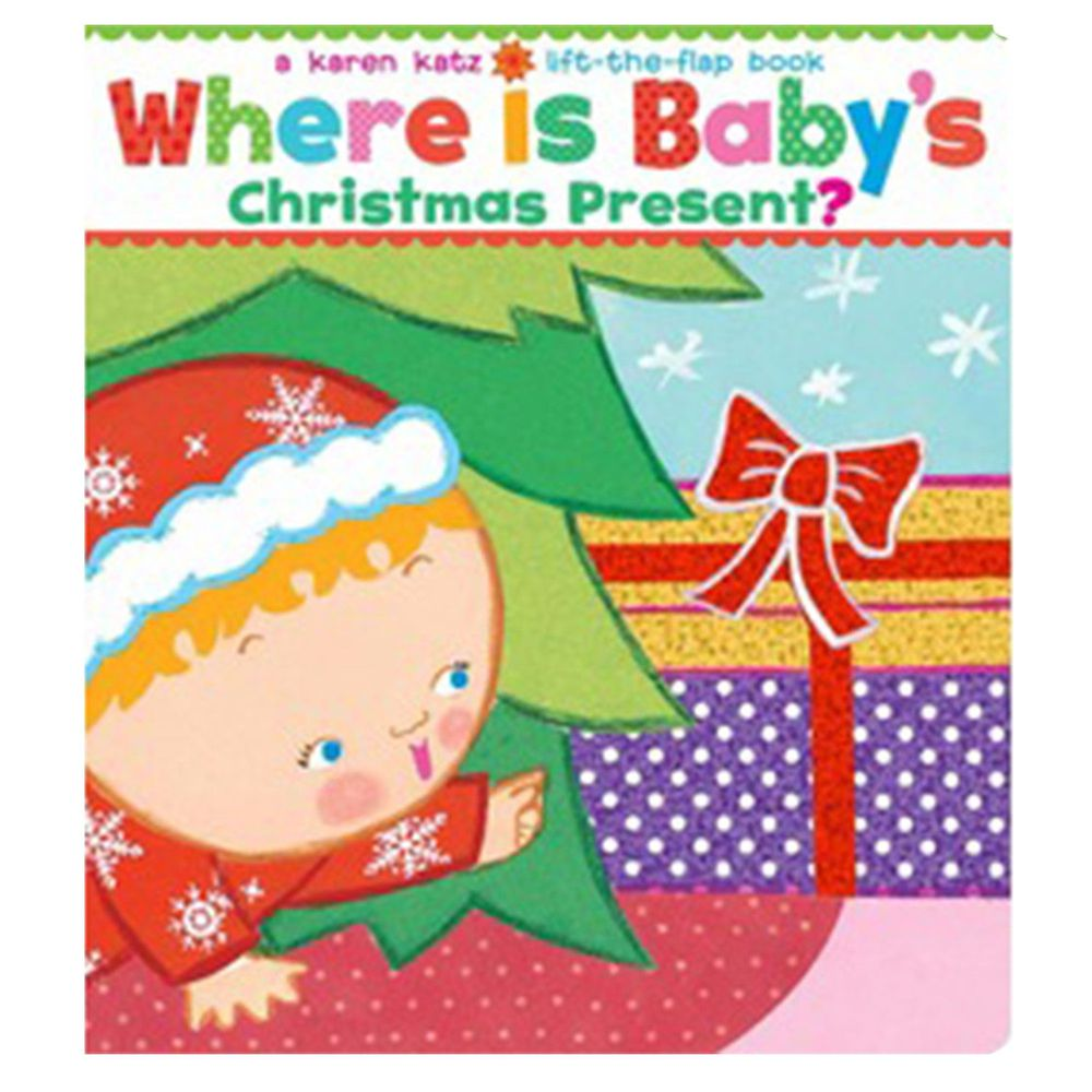 Where Is Baby's Christmas Present? 寶寶的聖誕禮物在哪裡?(厚頁翻翻書特大號版本)
