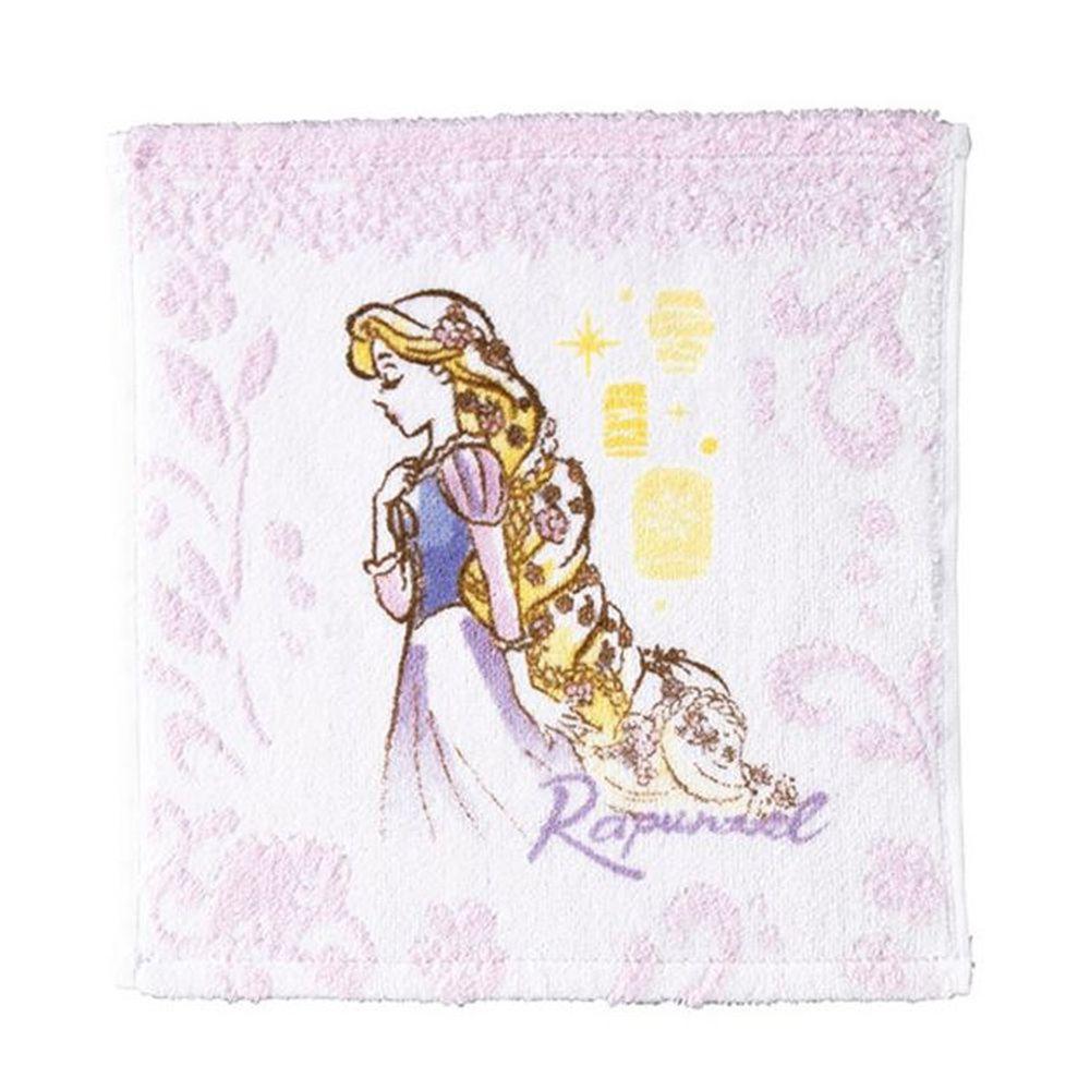 日本代購 - 迪士尼公主毛巾-手帕-長髮公主 (25x25cm)