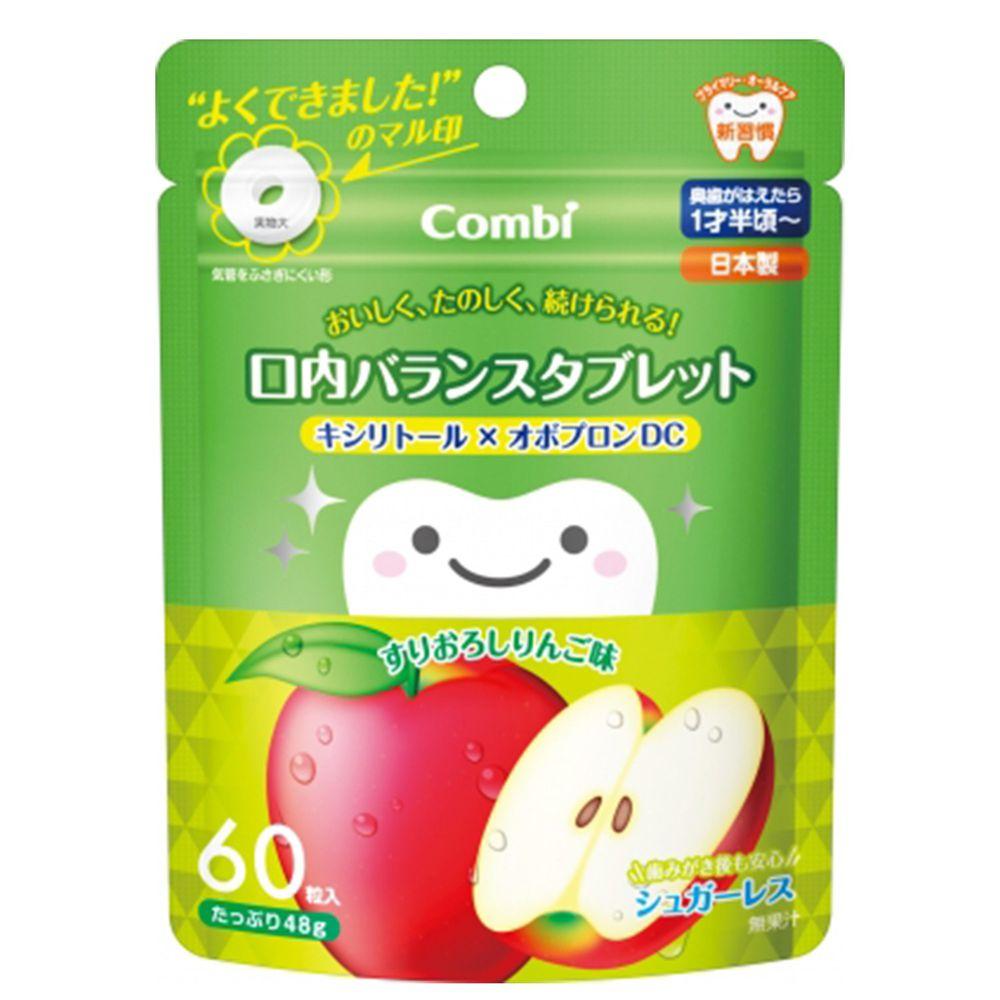 日本 Combi - teteo無糖口嚼錠-蘋果口味