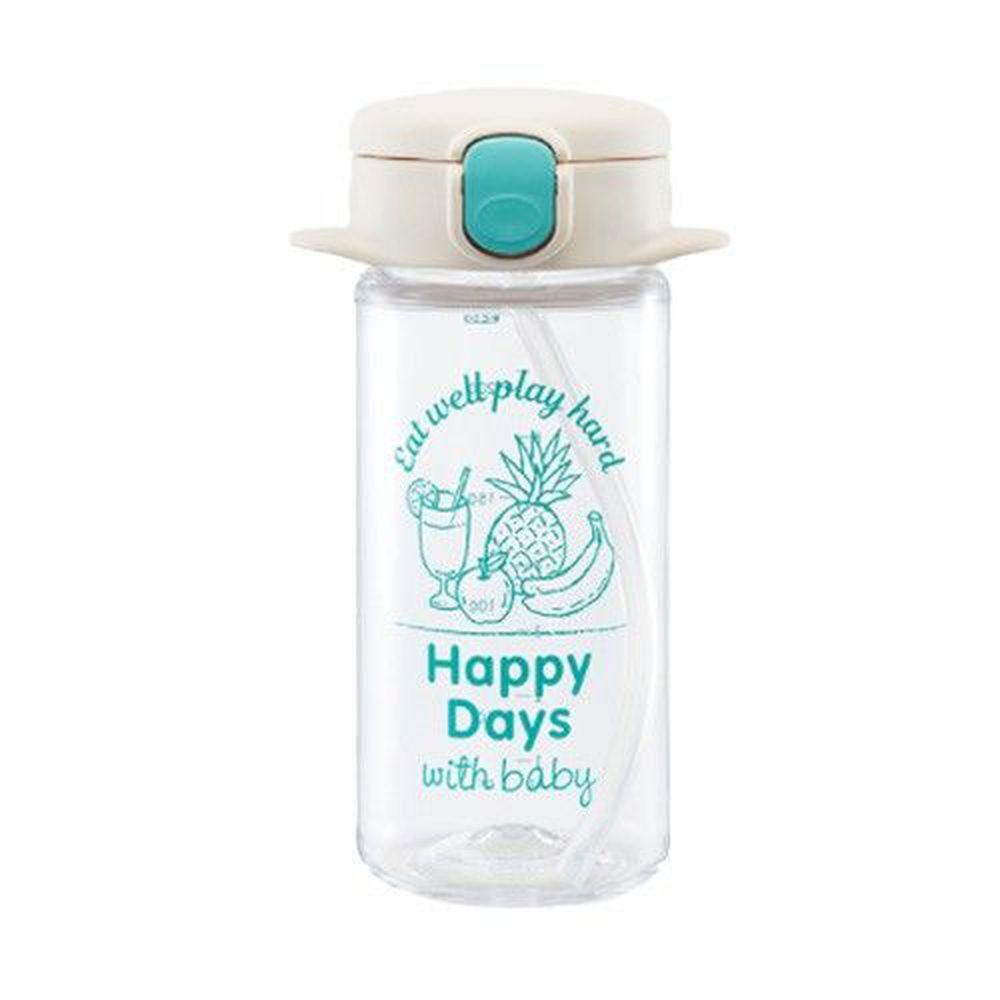 日本 Richell 利其爾 - aqulea Slim mug Tritan 水杯-兒童水壺-水漾果汁-白色-240ml