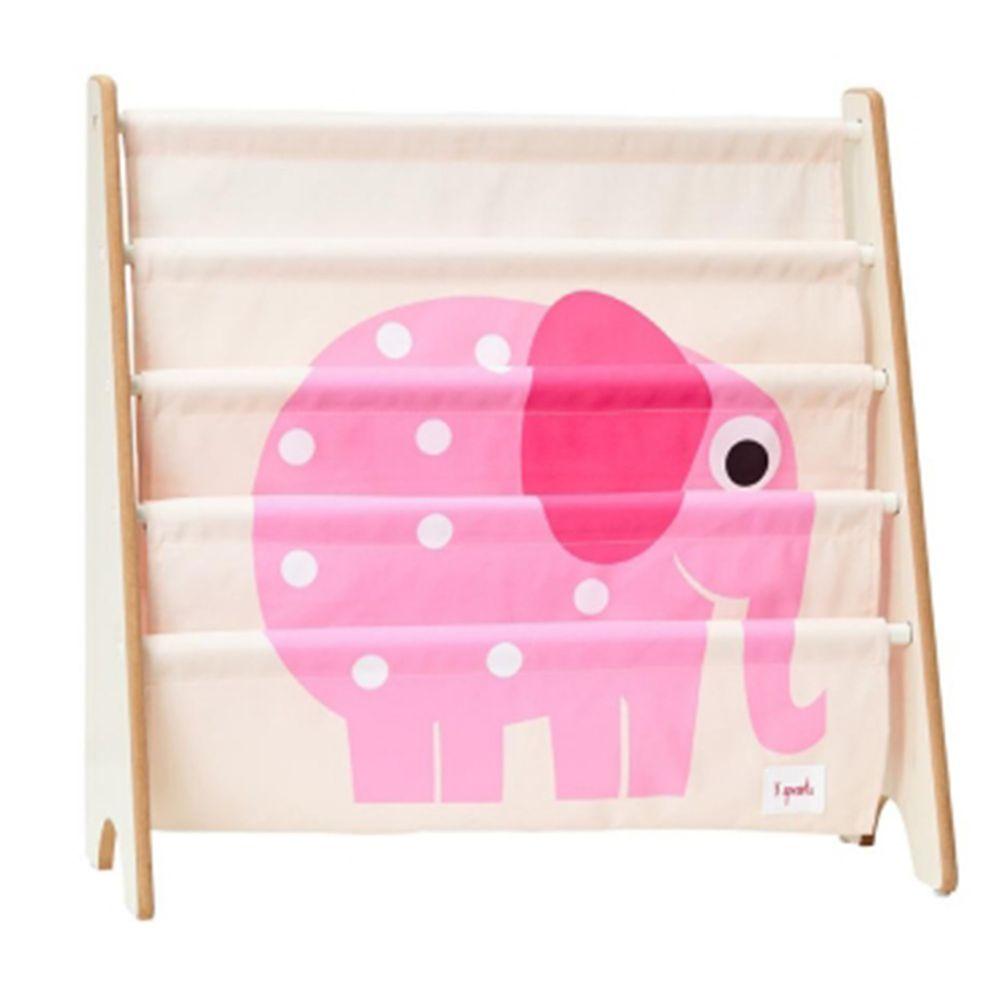 加拿大 3 Sprouts - 書架-粉紅象