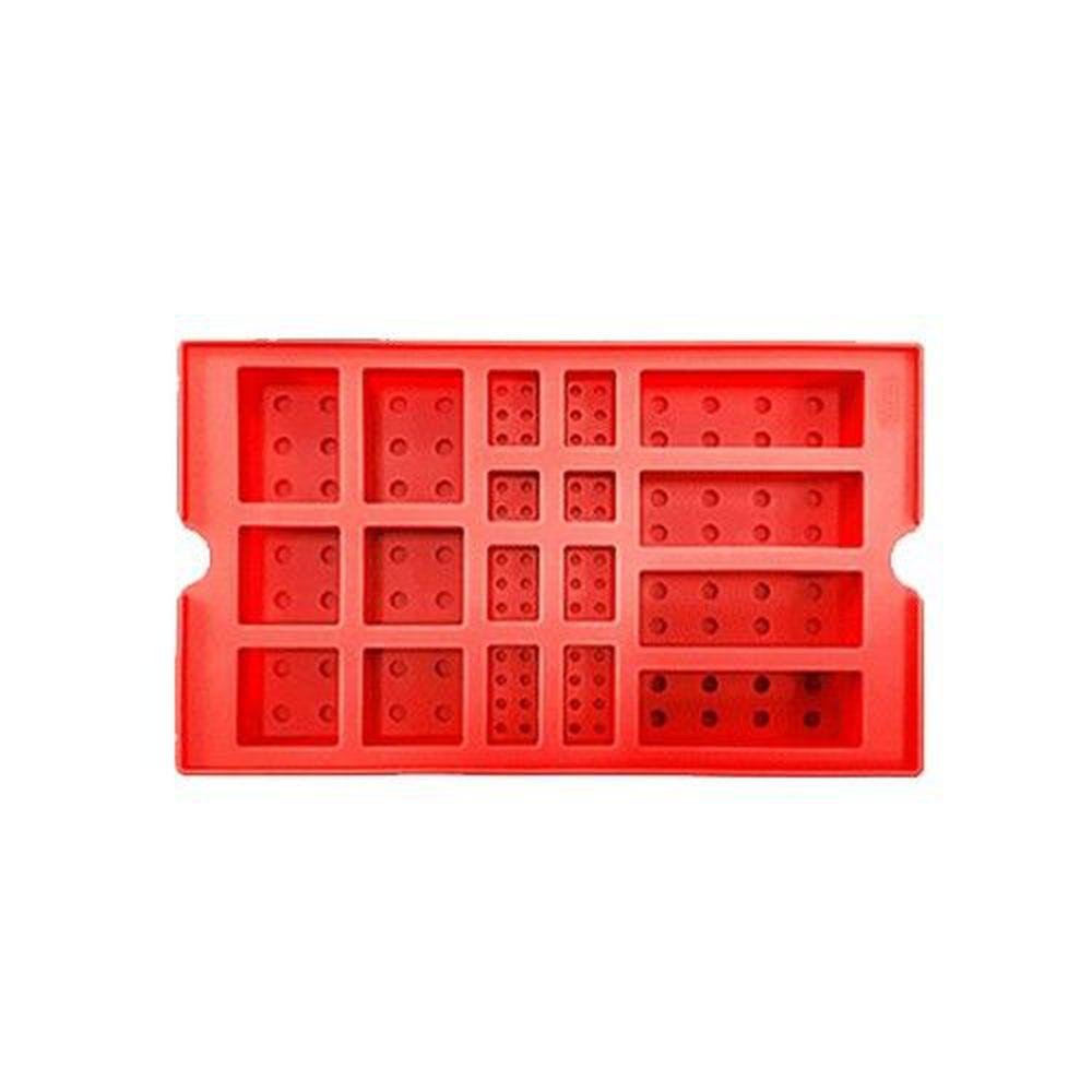 韓國 OXFORD - 樂高積木DIY模具-紅色