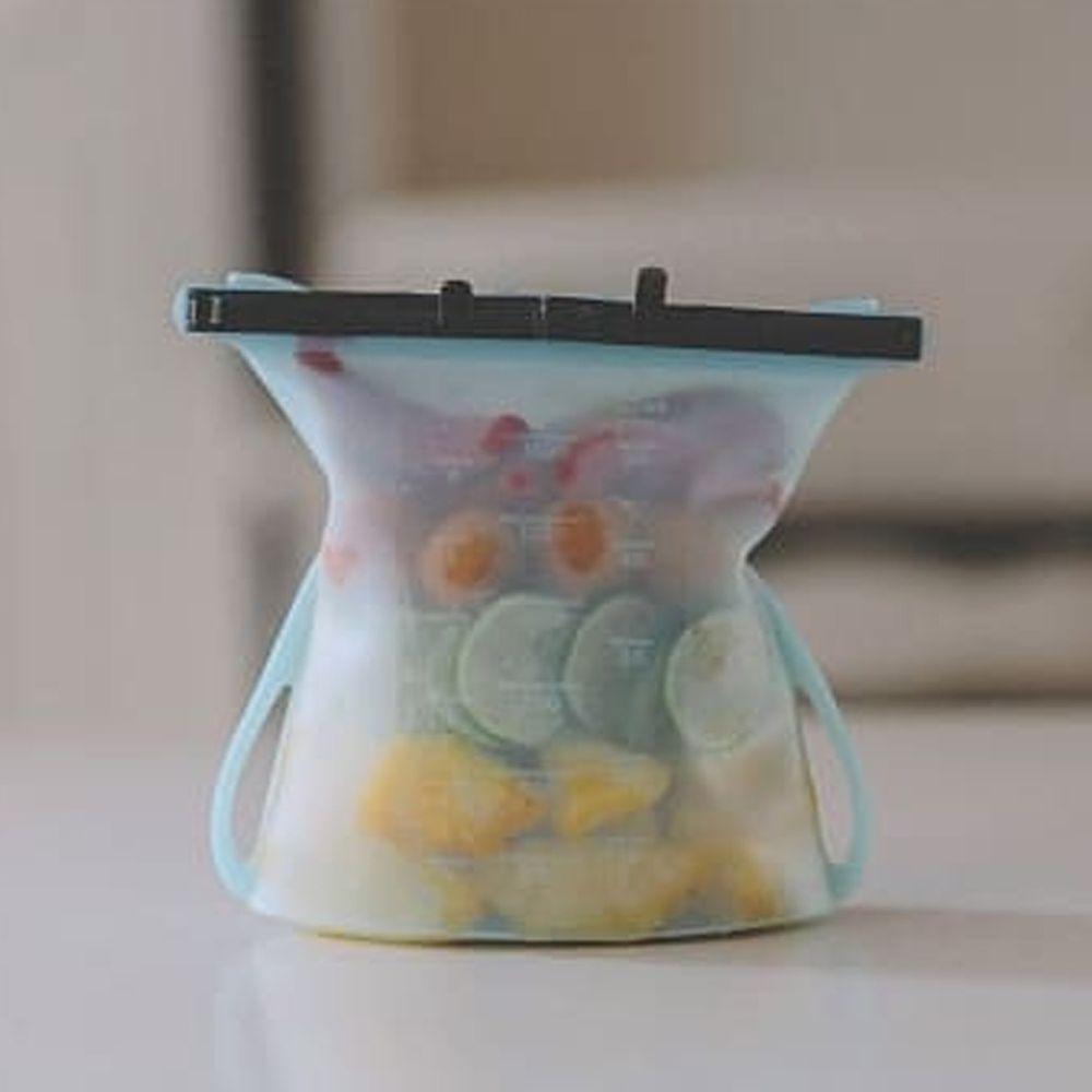 仁舟淨塑 - 矽密袋-藍莓藍-1500ml