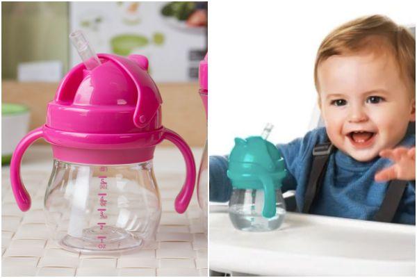 OXO tot 寶寶握吸管杯