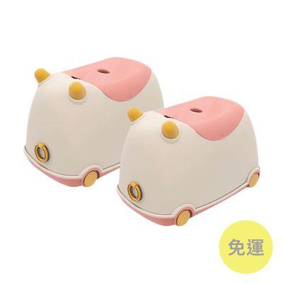 牛BUBU玩具收納車-草莓牛奶-2入