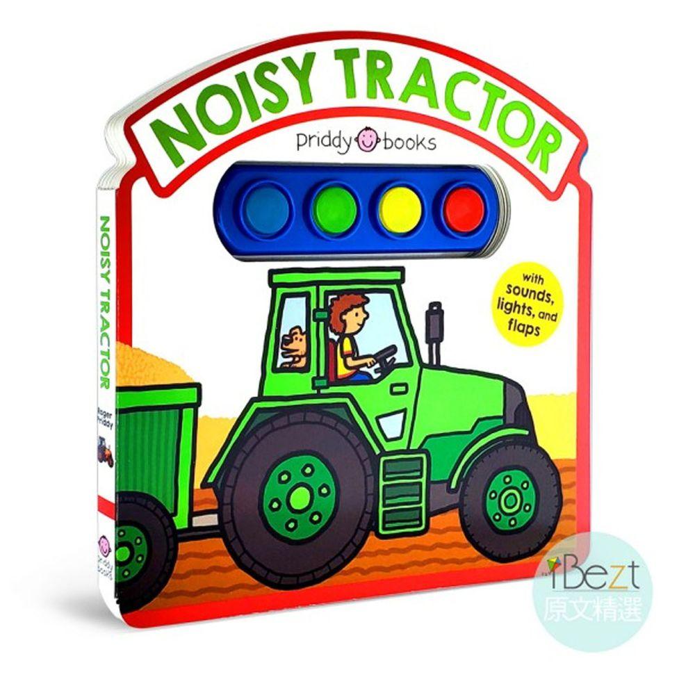 NOISY TRACTOR(發亮音效翻翻書)
